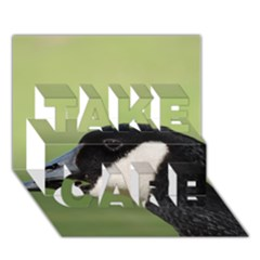 Goose Bird In Nature Take Care 3d Greeting Card (7x5)