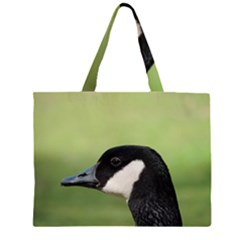 Goose bird in nature Large Tote Bag