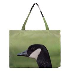 Goose Bird In Nature Medium Tote Bag