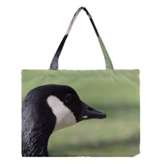 Goose, black and white Medium Tote Bag