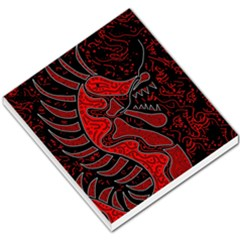 Red dragon Small Memo Pads