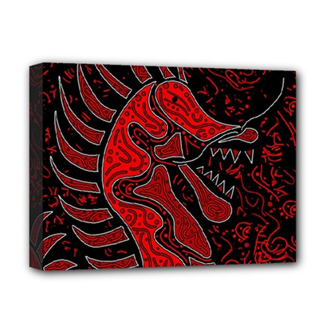 Red dragon Deluxe Canvas 16  x 12