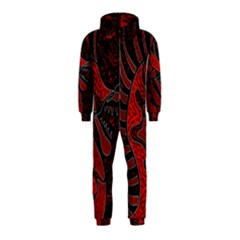Red dragon Hooded Jumpsuit (Kids)