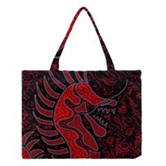 Red Dragon Medium Tote Bag