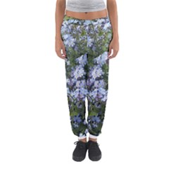Little Blue Forget-me-not flowers Women s Jogger Sweatpants