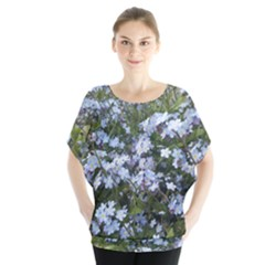 Little Blue Forget-me-not flowers Blouse