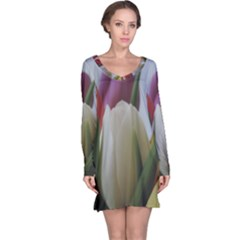 Colored By Tulips Long Sleeve Nightdress