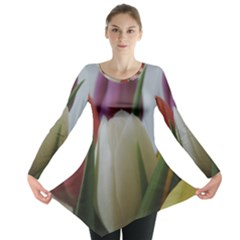 Colored by Tulips Long Sleeve Tunic