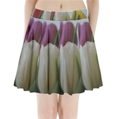 Colored By Tulips Pleated Mini Skirt