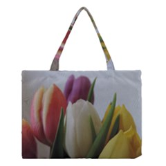 Colored By Tulips Medium Tote Bag