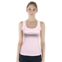 Pink color design Racer Back Sports Top