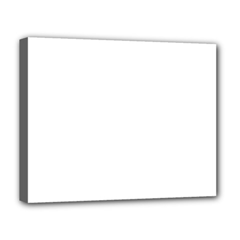 White Color Design Deluxe Canvas 20  X 16