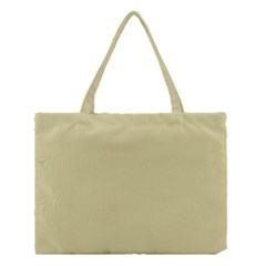 Brown Sand Color Design Medium Tote Bag