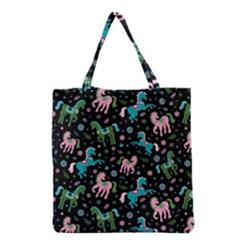 Ponies 1 Grocery Tote Bag