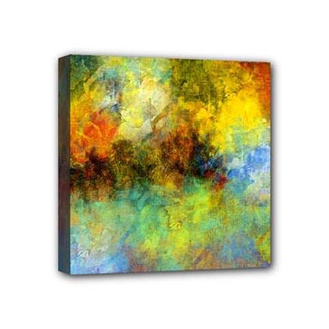 Lagoon Mini Canvas 4  x 4
