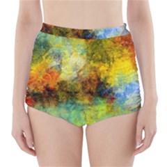 Lagoon High Waisted Bikini Bottoms