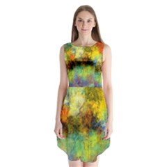 Lagoon Sleeveless Chiffon Dress