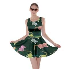 Mouse Pattern Design Cute Skater Dress
