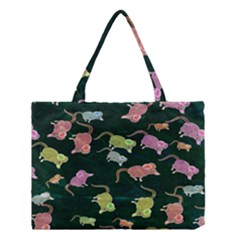 Mouse Pattern Design Cute Medium Tote Bag