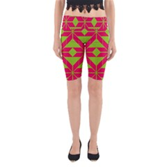 Pattern Background Texture Aztec 2 Yoga Cropped Leggings
