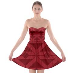 Pattern Background Texture Aztec Strapless Bra Top Dress