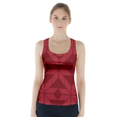 Pattern Background Texture Aztec Racer Back Sports Top