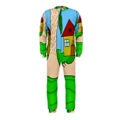 Giant foot OnePiece Jumpsuit (Kids)