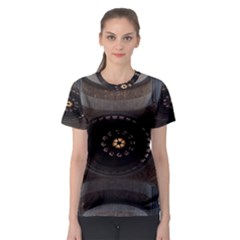 Pattern Design Symmetry Up Ceiling Women s Sport Mesh Tee