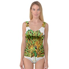 Peacock Bird Princess Tank Leotard