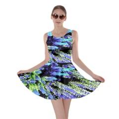 Colorful Floral Art Skater Dress
