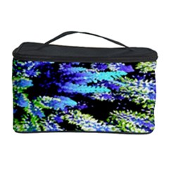 Colorful Floral Art Cosmetic Storage Case