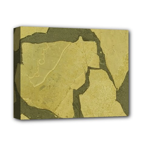 Stylish Gold Stone Deluxe Canvas 14  x 11