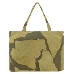 Stylish Gold Stone Medium Zipper Tote Bag