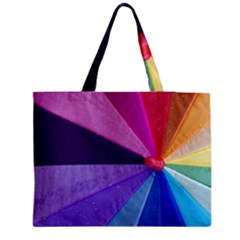Rainbow Umbrella Medium Tote Bag