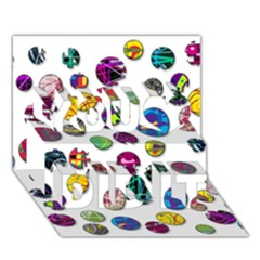 Play with me You Did It 3D Greeting Card (7x5)
