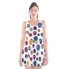 Play with me Scoop Neck Skater Dress