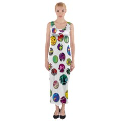 Play with me Fitted Maxi Dress