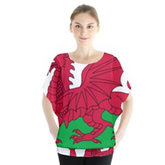 Flag Of Wales Blouse