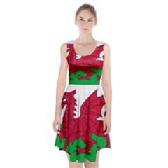 Flag Of Wales Racerback Midi Dress