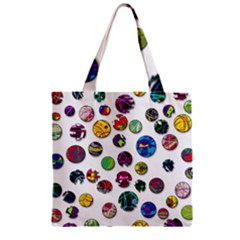 Play with me Zipper Grocery Tote Bag