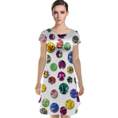 Play With Me Cap Sleeve Nightdress