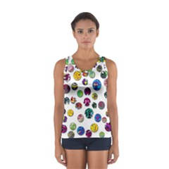 Play with me Women s Sport Tank Top
