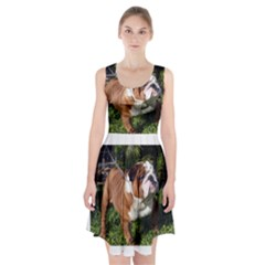 Bulldog Full Racerback Midi Dress