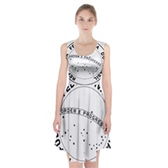 National Seal Of Brazil  Racerback Midi Dress