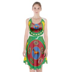 National Emblem of Turkmenistan, 2000-2003 Racerback Midi Dress