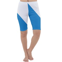 Flag of Canton of Zürich Cropped Leggings