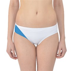 Flag of Canton of Zürich Hipster Bikini Bottoms