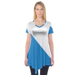 Flag of Canton of Zürich Short Sleeve Tunic