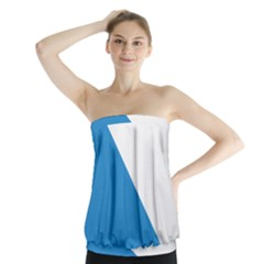 Flag of Canton of Z¨1rich Strapless Top