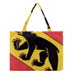 Flag of Canton of Bern Medium Tote Bag